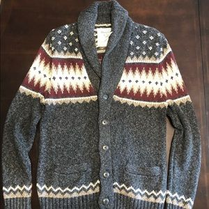 Abercrombie and Fitch Shaw cardigan.
